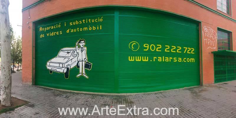 RALARSA Taller cristales automóviles · Barcelona