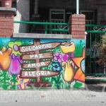 Decoración mural profesional en graffiti muro exterior Peña Betica Rubí ArteExtra - 2 - ArteExtra