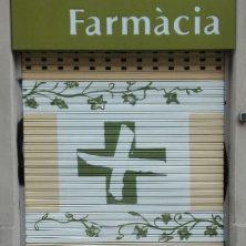 Decoración persiana graffiti en Barcelona - Eixample 2