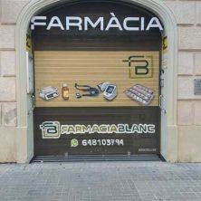 Decoración persiana graffiti en Barcelona - Sant Andreu