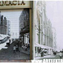 Decoración persiana graffiti en Barcelona - Sants 2