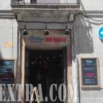 Dirty Burguer rotulación cartel exterior restaurante en Barcelona
