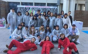 Evento graffiti ICO Bellvitge Barcelona Team Building - ArteExtra