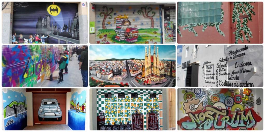 Foto destacada - Collage Recopilación Graffiti ArteExtra 2017