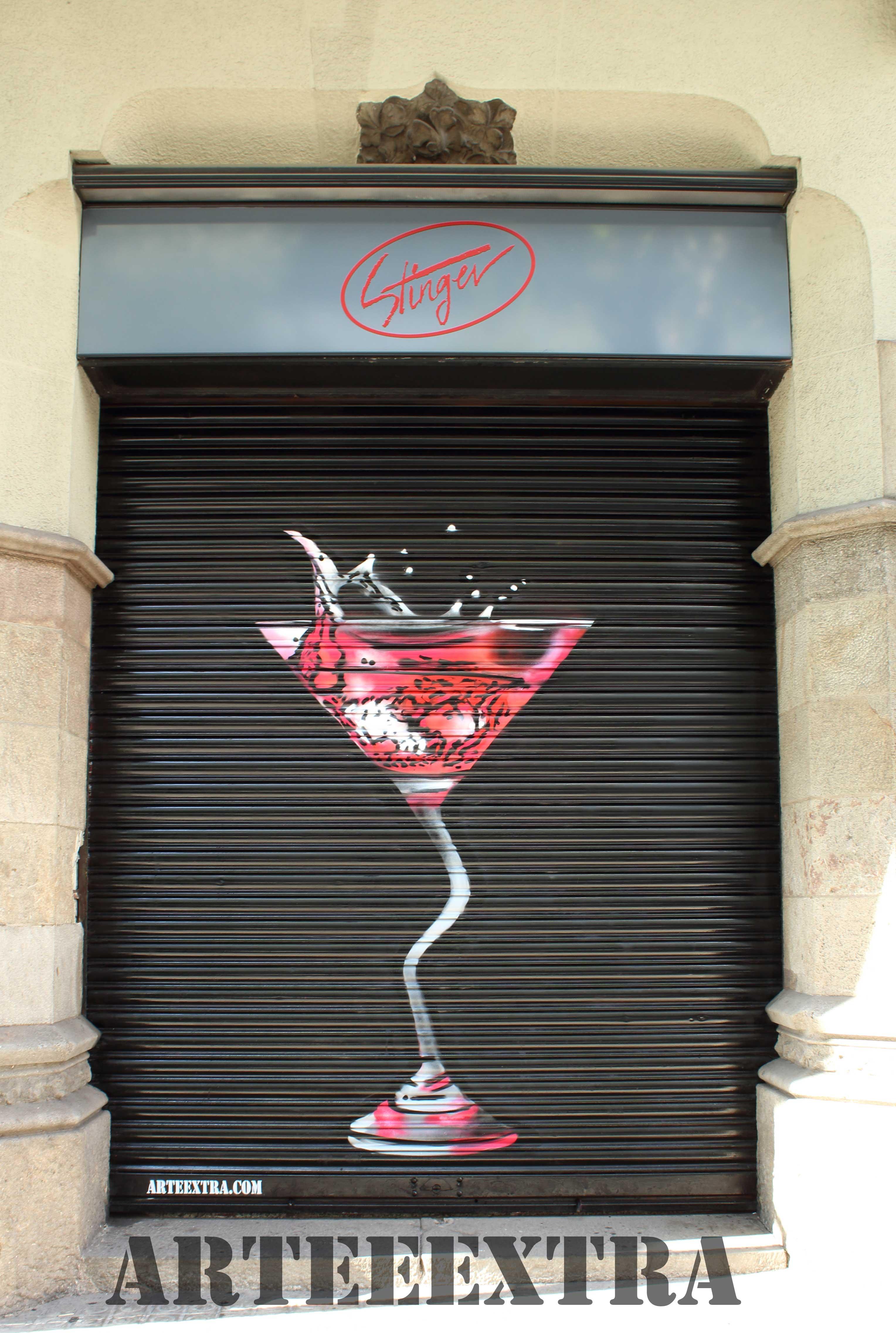 graffiti persiana mural espray