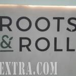 Logo corporativo pintado para Roots & Roll en Barcelona por ArteExtra