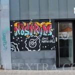 Mural exterior Nostrum Poblenou Barcelona - ArteExtra