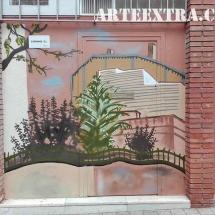 mural exteror paisaje urbano