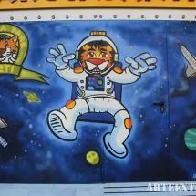 mural espray decoración exterior barcelona