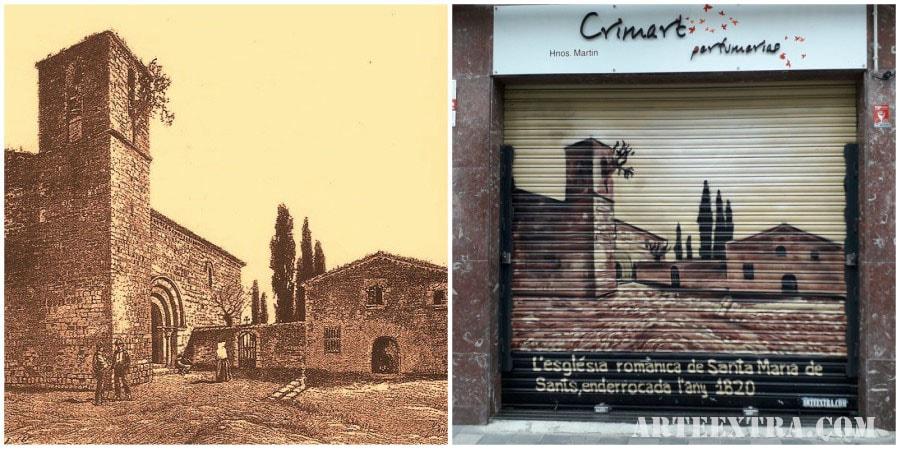 Persiana graffiti Crimart 2 Sants Barcelona ArteExtra