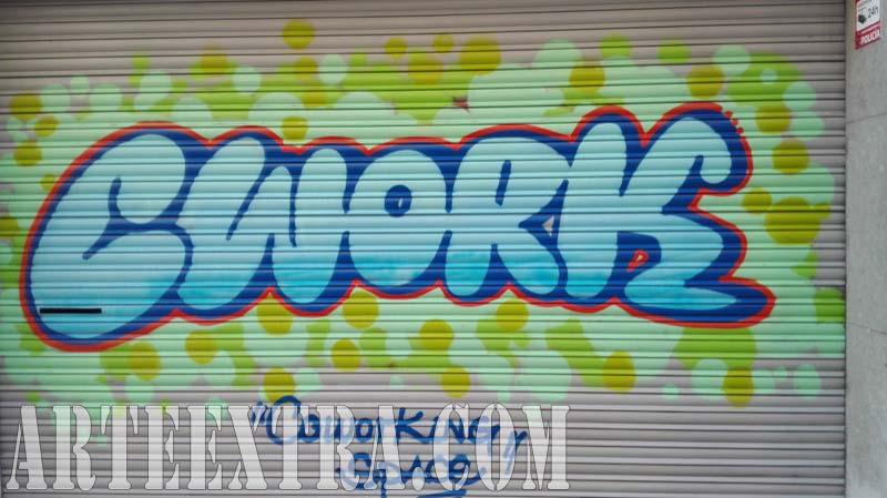 Persiana graffiti Cwork Cowoking Space Clot 2017