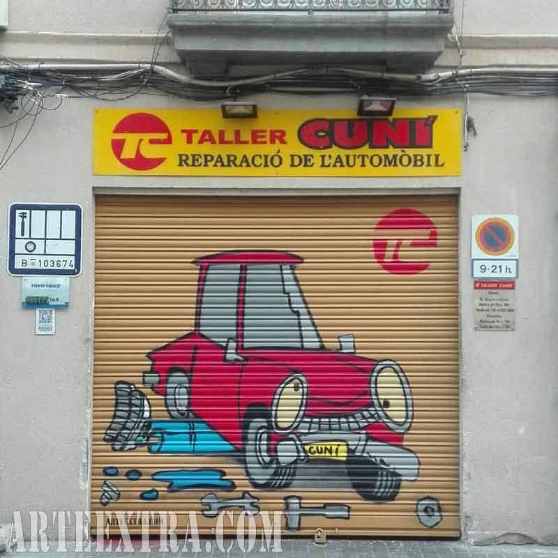TALLER CUNÍ Reparació de l'automòvil · El Poblenou · Barcelona