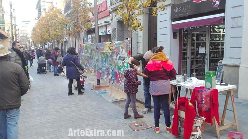 Taller Graffiti Arte Extra Barcelona - 3
