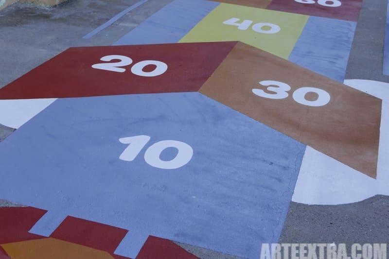 Trabajo graffiti ARTEEXTRA en Escuela Ferrer i Guardia 5