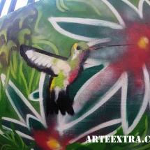 arteextra_jardin_pintura_garden_graffiti_spray_colibri