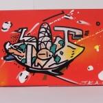 arteextra pintura mural naranja 2