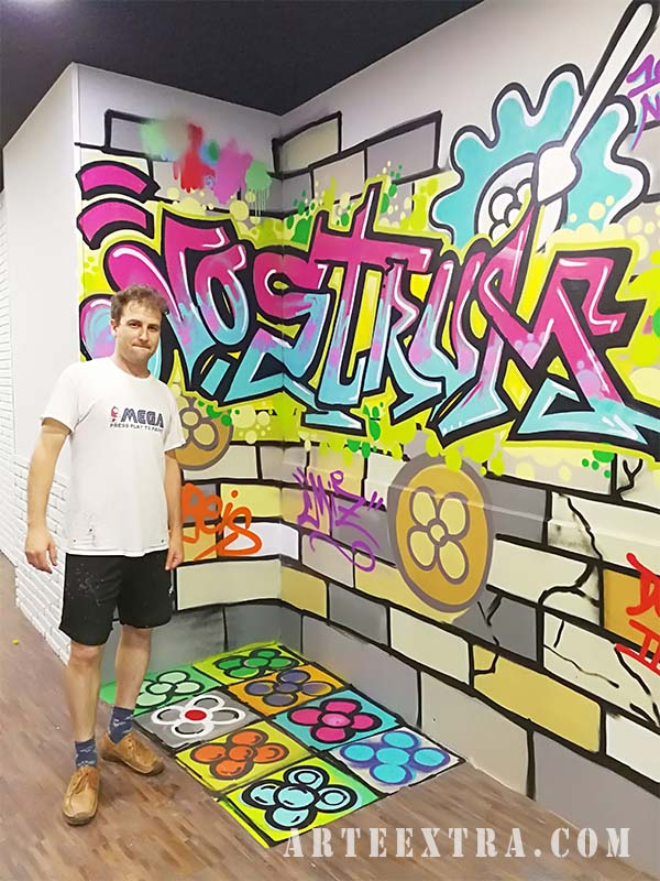 grafiti decoracion barcelona