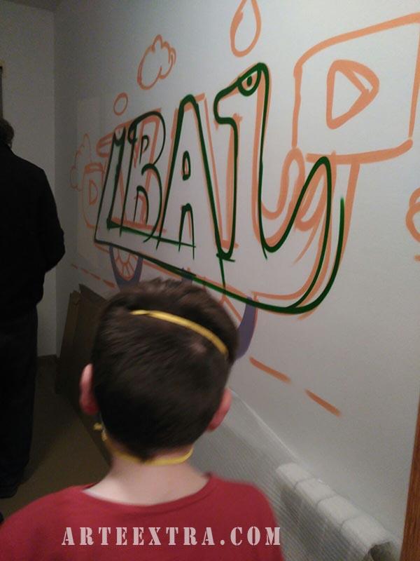 habitacion infantil graffiti barcelona
