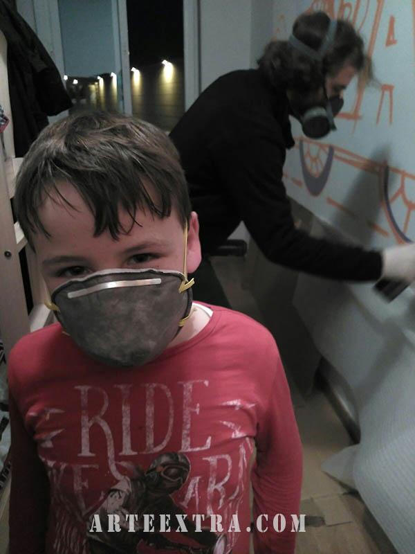 habitacion infantil grafiti barcelona arte