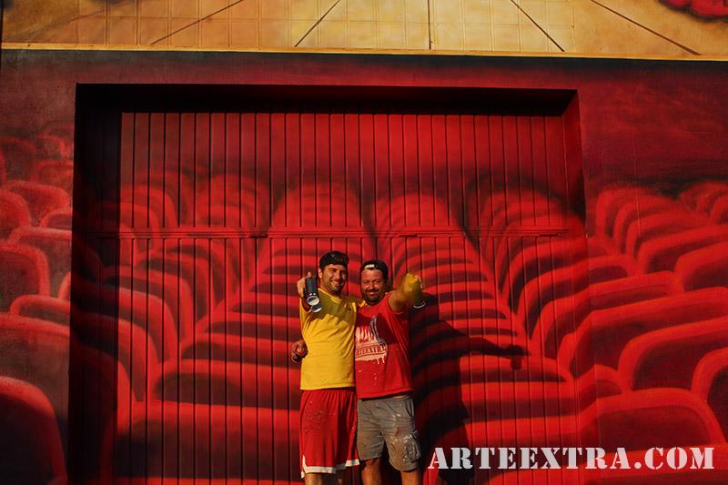 mural arteextra artistas muralistas barcelona