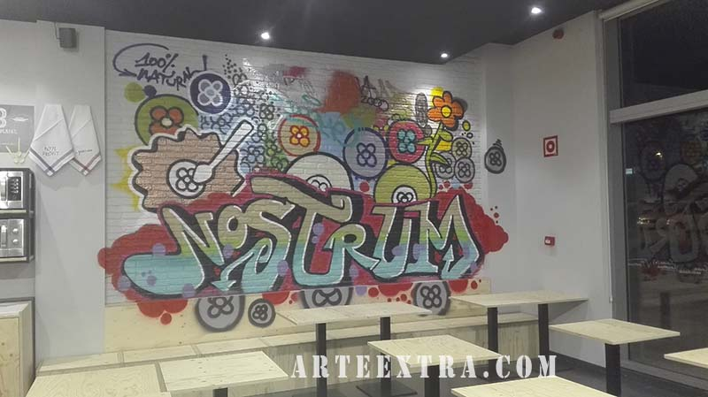 mural graffiti sant cugat arteextra