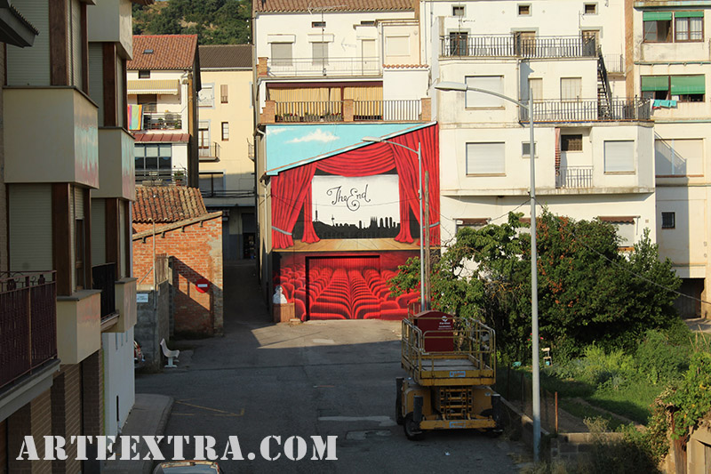 mural grafiti pintura arte extra decoracion