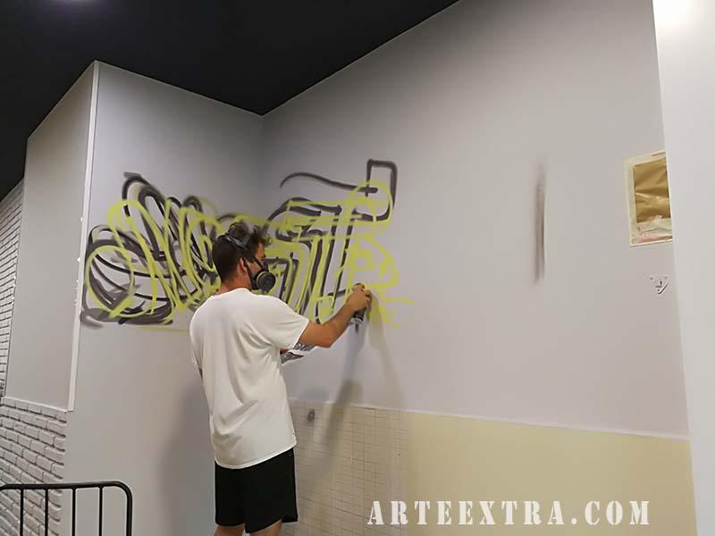 mural grafiti profesional barcelona