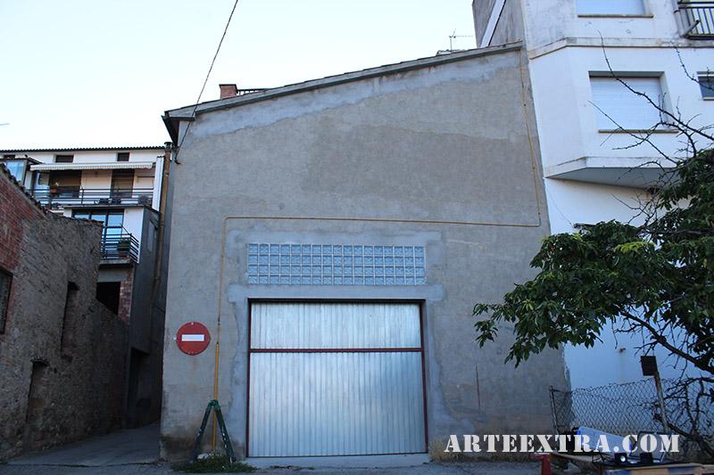 mural oliana graffiti decoracio cinema arte extra