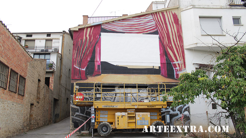 mural oliana grafiti pintura muralisme arte extra