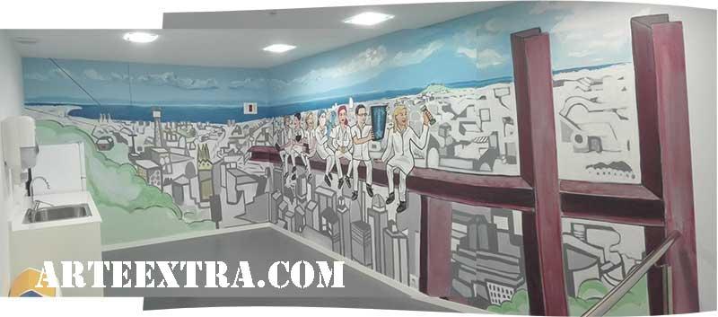 mural arte barcelona
