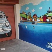 murales-decoracion-graffiti-parking-barcelona-profesional