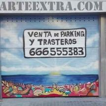 parking_comunidad_graffiti_puerta_graffiti_barcelona