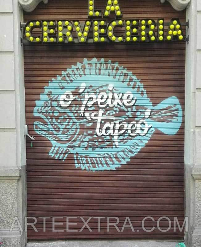 O'PEIXE TAPEO Pulpería gallega · Eixample Esquerra · Barcelona