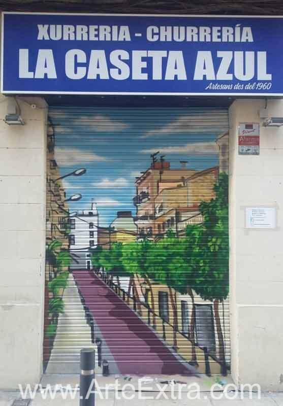 CHURRERÍA LA CASETA AZUL · Poblenou · Barcelona
