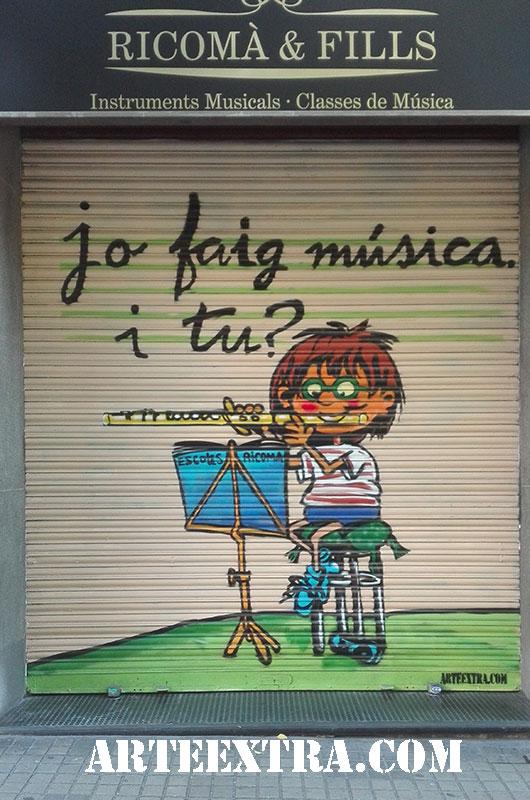 persiana_decoracion_escuela_de_musica_graffiti