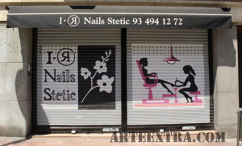 persiana_decoracion_graffiti_spray_publicidad