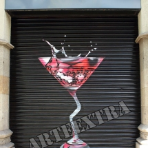 Kiosko_decoracion_pintura_graffiti_barcelona_gracia