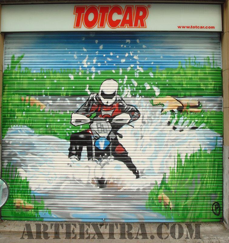 persiana_graffiti_barcelona_automocion