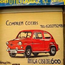 persiana_graffiti_coche_decoracion_barcelona_eixample