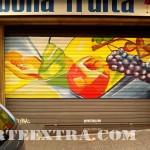 persiana personalizada pintura graffiti fruteria barcelona