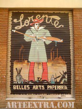 LORENTE Bellas Artes Papelería · Gràcia · Barcelona