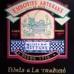 Pintura personalizada para tienda de jamones en Barcelona